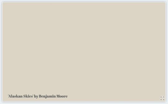 Benjamin Moore - Alaskan Skies