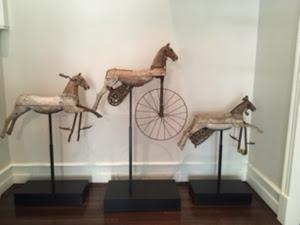 Three Painted Horses