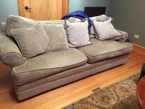 Sofa - Before