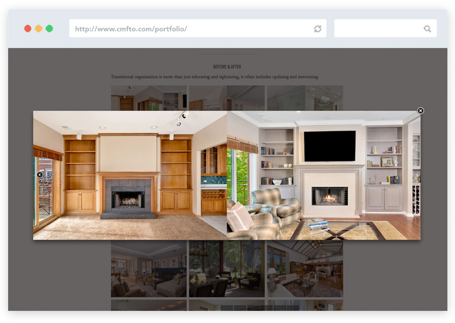 CMFTO Website - Portfolio