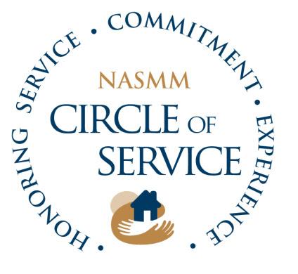 NASMM Circle of Service
