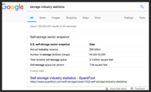 Storage Search