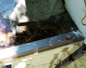 Gutters - Before