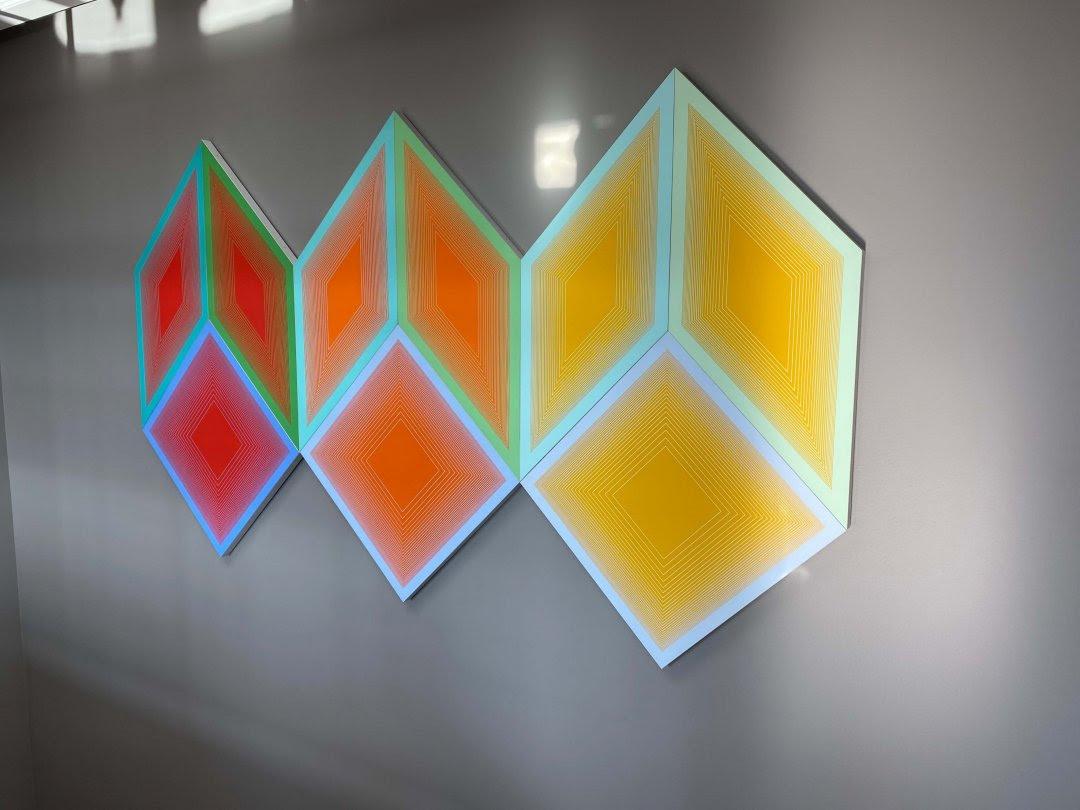 Geometric mosaic art