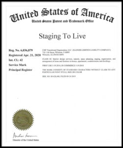 Staging To Live Trademark
