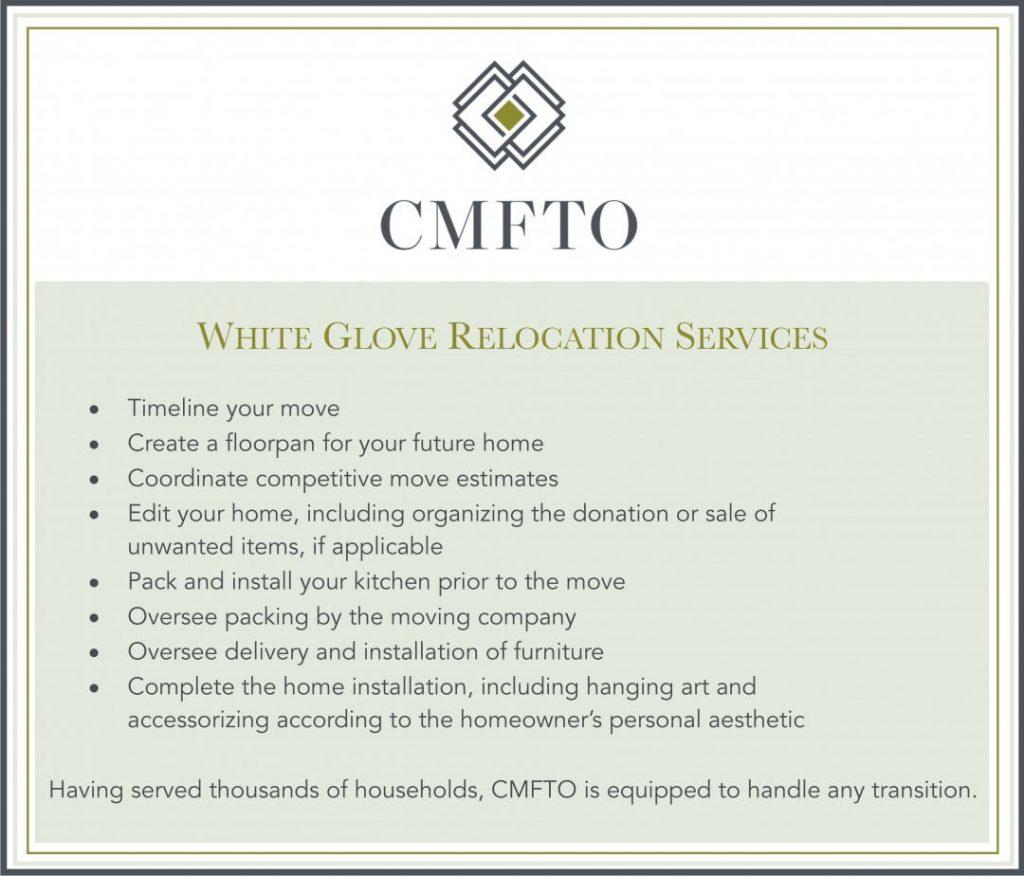 CMFTO White Glove Relocation Services
